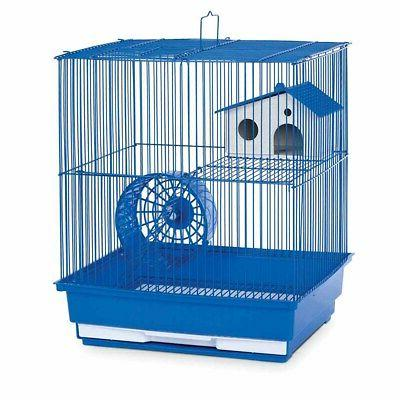 Two Story Hamster and Gerbil Cage - Blue