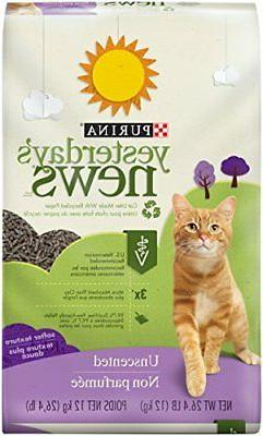 Purina Yesterday's News Unscented Non-Clumping Cat Litter -