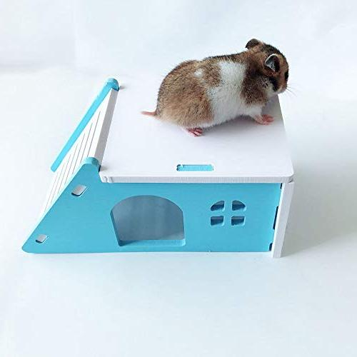 Wooden Hamster Exercise Toy
