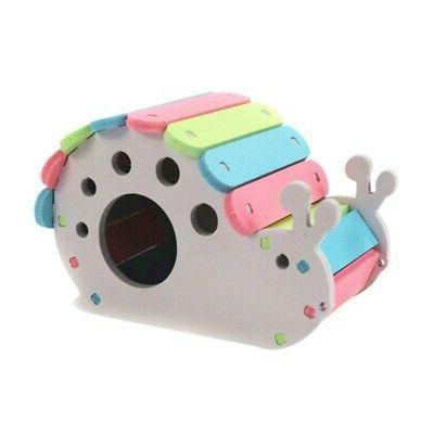 Wooden Colorful Animal Cage Exercise Funny
