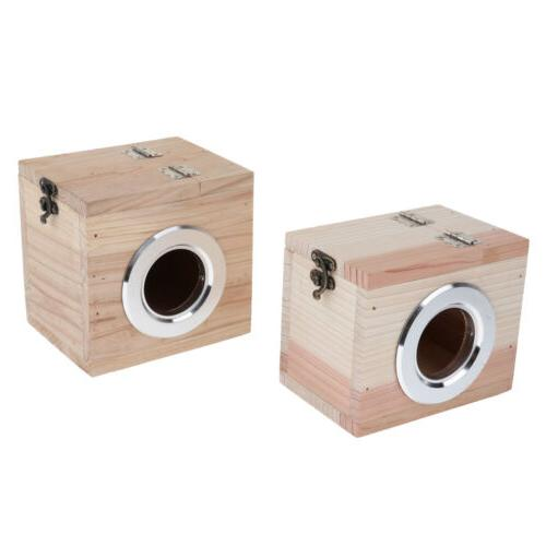 wooden hamster house rat mouse exercise natural
