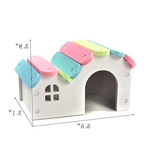 Wooden Mouse Exercise Hamster Nest Toy