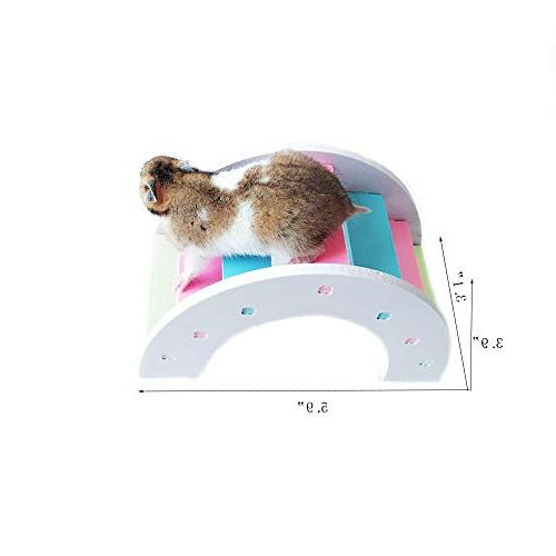 Wooden Hamster Mouse Exercise Natural