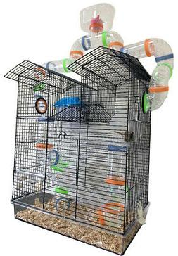 Large 5-Floors Top Watcher Hamsters Habitat Rodent Gerbil Ra