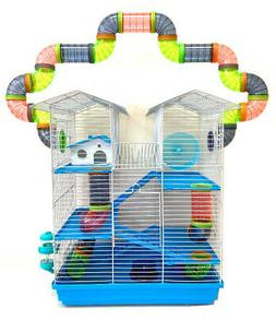 Large 5-Level Twin Tower Syrian Hamster Habitat Mice Rats Ca