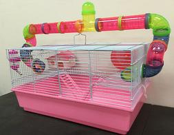 Large Habitat Hamster Guinea Pig Mouse Mice Cage Long Crossi