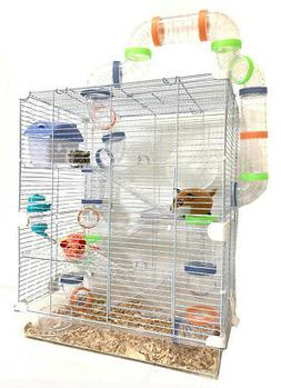 Large Happy Fun Land Hamster Habitat Home House Cage Rodent