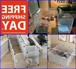 Large Kennel Playpen Dog  Indoor Pet Cat Exercise Yard Fence