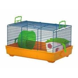Marchioro Lux 1 Cage for Small Animals, 16-inches, Red/Black