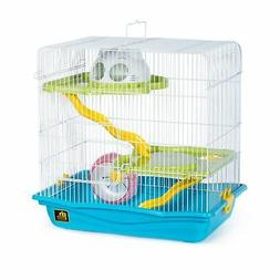 Prevue Medium Hamster Haven- Blue