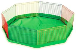 Prevue Pet Products Multi-Color Small Pet Playpen 40090 by P
