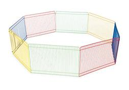 Prevue Pet Products Multi-Color Small Pet Playpen 40090