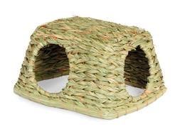 Natural Nest Hideaway Grass Hut Toy Medium Rabbit Guinea Pig