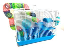 New 2 Floor Syrian Hamster Rodent Gerbil Mouse Mice Habitat