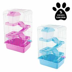 NEW PetMaker 3-Tier Small Animal Hamster Wire Metal Cage Pet
