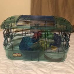 New kaytee critter trail cage Small Animal Gerbil Hamster Mi