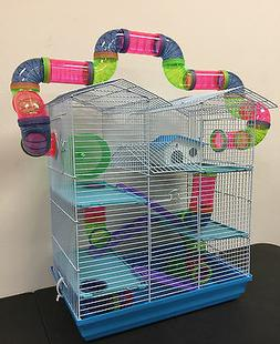 NEW Large Twin Towner Hamster Habitat Rodent Gerbil Mouse Mi