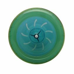 Habitrail OVO Wheel for Dwarf Hamster Habitat, Lime Green/Bl