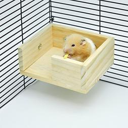 Niteangel Wooden Hamster Mouse Small Animals Lookout Platfor