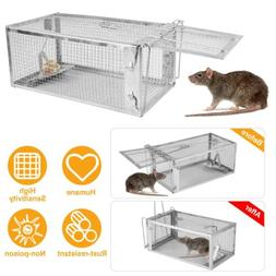 One Door Animal Trap Steel Cage for Small Live Rodent Contro