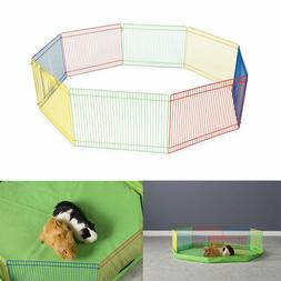 Outdoor Pet Playpen Animal Cage Dog Fences Enclosure Small P