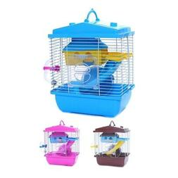pet cage hamster cottage with transparent skylight