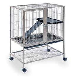 Prevue Frisky Ferret Cage with Stand 486 Coco Brown, 25 x 17