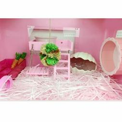 Pet Hamster Small Animal Cage Substrate Nesting Paper Warm B