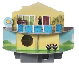 Habitrail Small Pet OVO Cardboard Maze  Style: Doll House