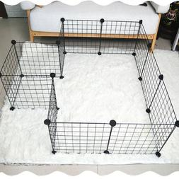 Pet Playpen Dog Cat Rabbit Puppy Pig Play Pen Cage Folding R