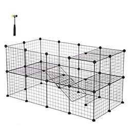 pet playpen includes cable ties