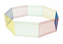 Pet Playpen Small - Hamster Fence - Cage Exercise Puppy Play