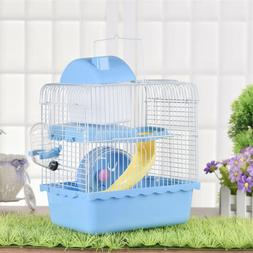 Pet Supplies Hamster Cage 2 Layers Mouse House Mice Rat Cast