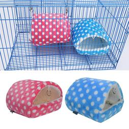 Plush Soft Guinea Pig House Bed <font><b>Cage</b></font> for
