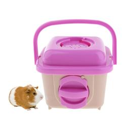 Portable Mini Hamster Carrier Cage -Travel Carry Bag for Hed