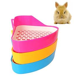 Fashionclubs Potty Trainer Corner Litter Toilet Tray For Ham