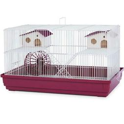 "Prevue Deluxe Hamster Gerbil Cage 22-1/2""L w/ Exercise Wheel"