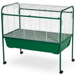"Prevue Small Animal Rabbit Guinea Pig Cage 40""L with Deep Pa"