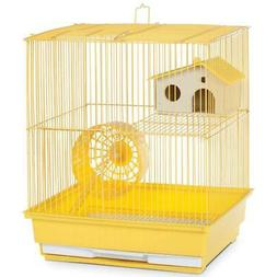 "Prevue Two-Story Hamster Gerbil Cage 15-1/4""H with Exercise"