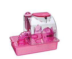 Pen Plax CP1 Pink Princess Hamster Cage, Small