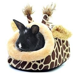 BWOGUE Rabbit Guinea Pig Hamster Bed House Small Animal Pet