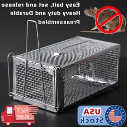 Rodent Animal Mouse Humane Live Trap Hamster Cage Mice Rat C