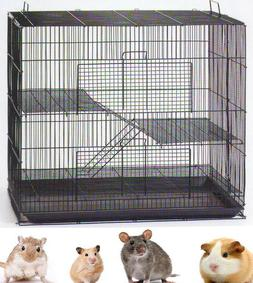 Small Animal Cage For Glider Gerbil Syrian Hamster Rat Mice