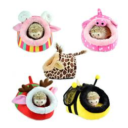 Small Animal House Soft Cushion Bed Pet Pad Cage for Hamster