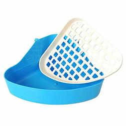 Rely2016 Small Animal Pet Triangle Potty Trainer Litter Corn