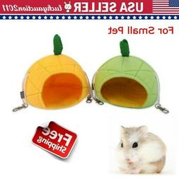 Small Animal Pet Winter Warm Hanging Bed House Cage Nest Ham
