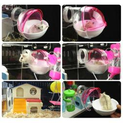 Small Animals Bathroom House for Mouse Chinchilla Rat Gerbil