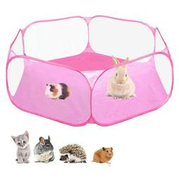 Small Animals Cage Tent Hamster Playpen Exercise Fence For G
