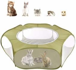 Small Animals Tent Reptiles Cage Breathable Transparent Play