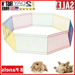 Small Pet Hamster Playpen Safely Animal Exercise Pen 36 Inch